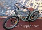 Pedal Assisted Fat Tire mountain Bike Steel Front Fork electric powered bicycle
