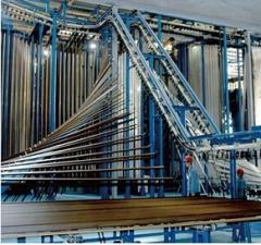 powder coating line for Vertical aluminum