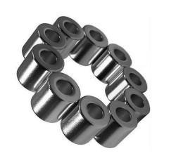 сильный спеченный диаметрально намагниченный кольцевой магнит