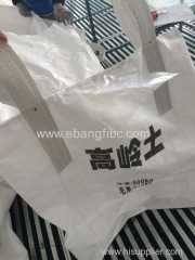 FIBC big bag for kaoline with printing