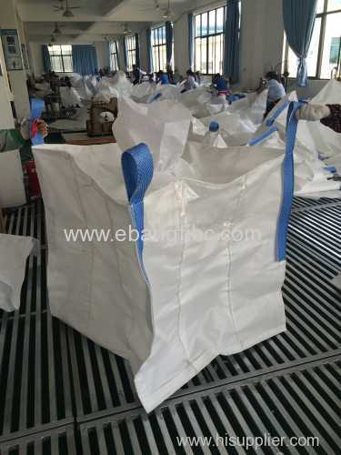 lining big bag with cotton sliver for packing resin