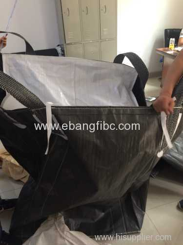 color black big bag with cover