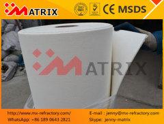 High temperature glass kiln ceramic fiber seal gasket