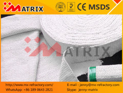 Refractory Insulation marine exhaust ceramic woven tape