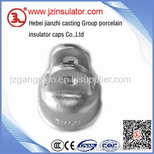 ANSI tongue type 52-2 disc porcelain elelctric insulator cap