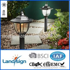 Solar light factory landsign plastic led solar sensor light