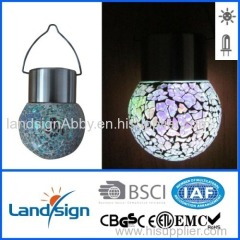 Hot sale products landsign series 1*white LED plastic outdoor solar lighting for garden