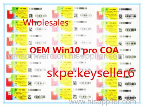 windows 10 pro activation keys