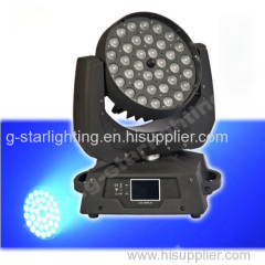 Zoom 36*10W 4in1 Leds moving head lights