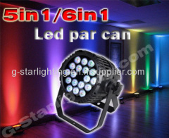 Outdoor 18*12W(5in1) LED Par Can