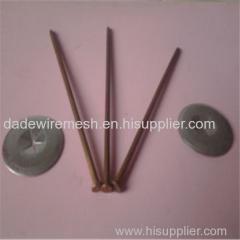 Insulation anchor nail (plastic nail)