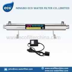 RO esterilizador ultravioleta sistema