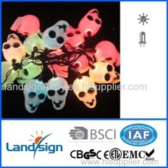 Solar Light factory with CE ROHS certificated Optical fiber halloween solar light