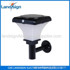cixi landsign sensor motion solar garden light led series CE/ROHS/EMC/PAHS outdoor solar lighting for garden