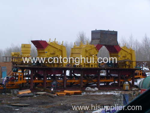 high efficent impact crusher