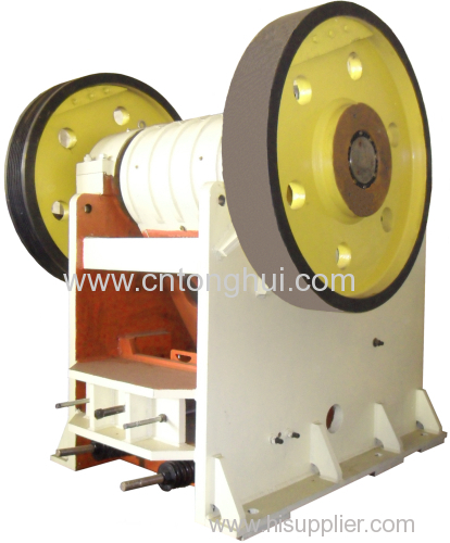 ISO9001:2008 jaw crusher with high capactiy