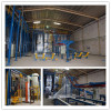 Vertical Powder Paint finishing System for aluminum profiles
