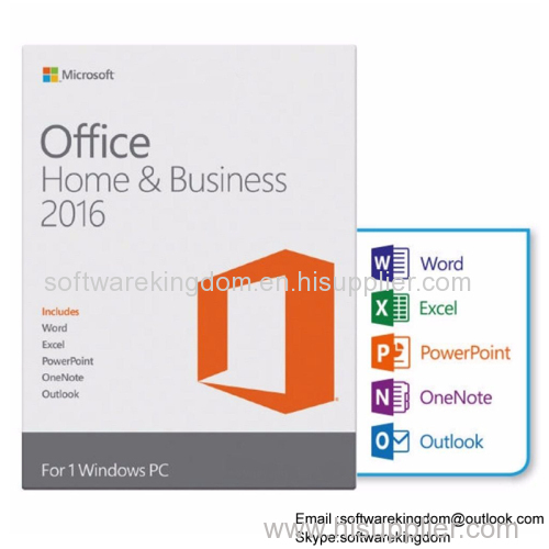 Microsoft Office 2016 Hs Home and Student FPP online