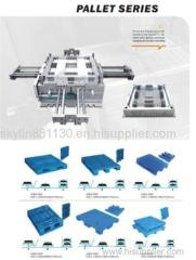 plastic industrial pallet mould