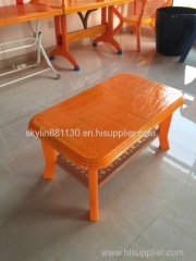 palstic coffee dinning table mould