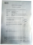 SGS verified supplier