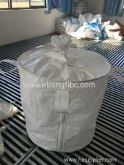 circular jumbo bag with cotton line for packing chemical powder