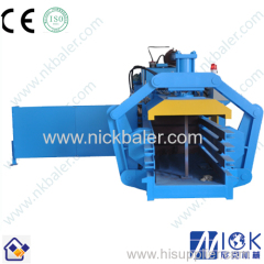 Electric Horizontal hydraulic cotton baler machine for baling waste cotton & paper