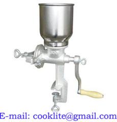 Molino de maiz y granos / Molino manual para molturar maiz