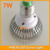 7W LED grow bulb E27 lamp base