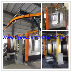 stainless steel powder booth