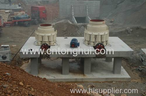 Best Quaulity Cone crusher in China from HAIYAN TONGHUI