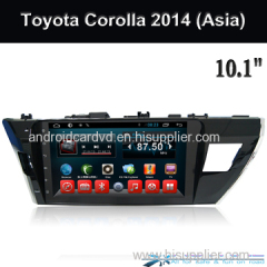 Wholesale Android 6.0 Kit Kat Central Multimedia Player Toyota Corolla 2014 Asia