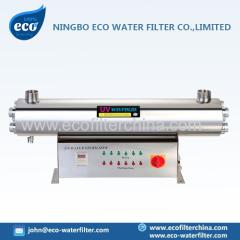 unidade de esterilização ultravioleta água