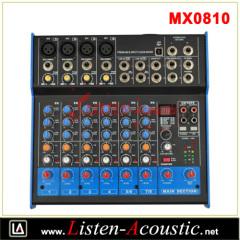 Professional Premium 6-Input 2-Bus Mixer