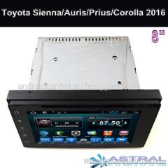 Auris Prius Sienna Corolla 2015 2016 Car Dvd Players Toyota