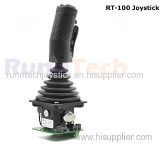 RunnTech Single-axis Self-centering Joystick with Potentiometer & 6