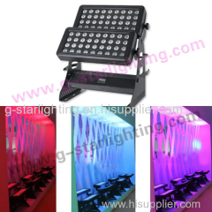 72 LEDs city color light (4in1)/led wall washer/ DMX city color/Outdoor stage li