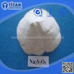 Sodium Pyrosulfite SMBS CAS 7681-57-4 Na2S2O5 Sodium Metabisulfite