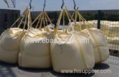 Circular big bag for packing calcium carbonate superfine powder
