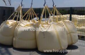 Circular big bag for packing calcium carbonate superfine powder