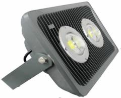 100W 2 COB Led Floodlight Aluminium IP65 AC100-265V