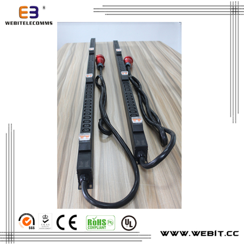 0U Industrial 3-Phase PDU