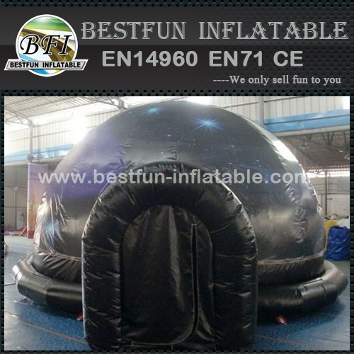 Inflatable planetarium tent for teaching