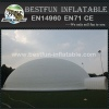 20m huge 0.55mm pvc tarpaulin white dome lgloo