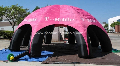 Advertising inflatable beach  dome tent for sale