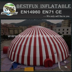 Large advertising inflatables building tent