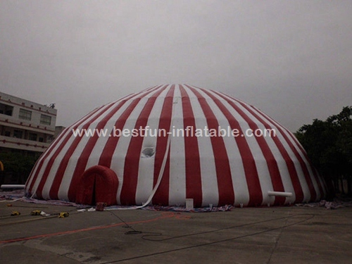 Commercial 500 people inflatable dome tent