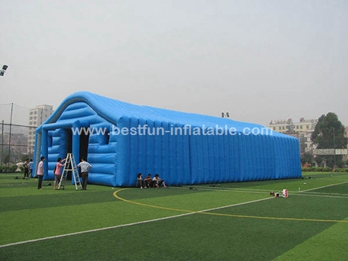 Commercial blue color inflatable tent
