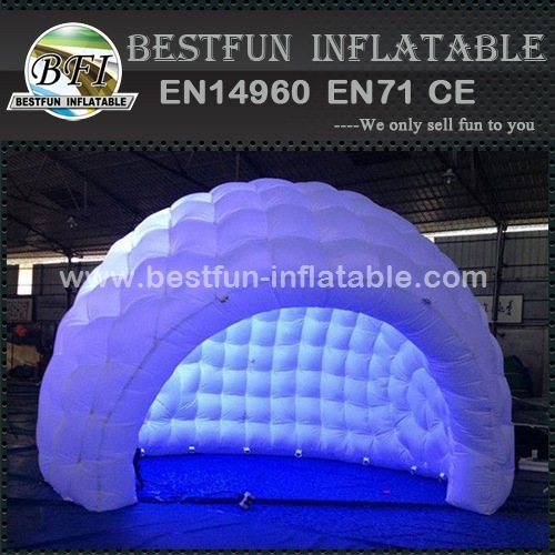 LED tent inflatable for party event
