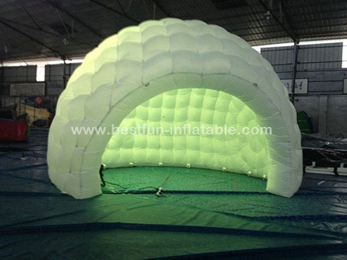 Customized lighting decoration inflatable party tent